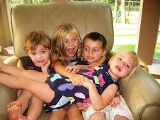 Reese, Quinn, Jake and Kaden