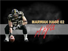 Home of Greatest Center in the CFL Marwin Hage