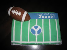 Jacob's BYU Football Cake