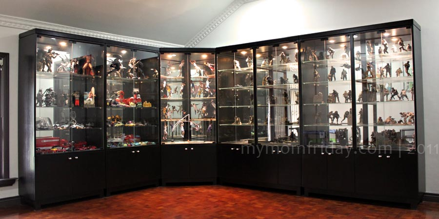 Most Of His Collection Are Now Proudly Displayed In His Gallery, While Some  Remain Stored, Unopened, In The Cabinets Due To Lack Of Space!