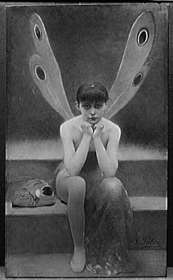 Fernand Pelez (1843-1913) - Peintre dans Peinture La+Libellule