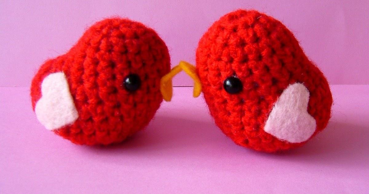 Amigurumi Valentine : berrysprite: Valentines Day amigurumi!