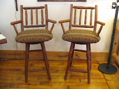 Hickory Bar Stools