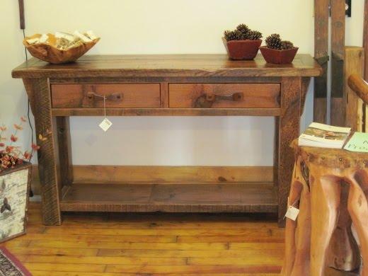 Go Rustic!: Genuine Barnwood Furniture