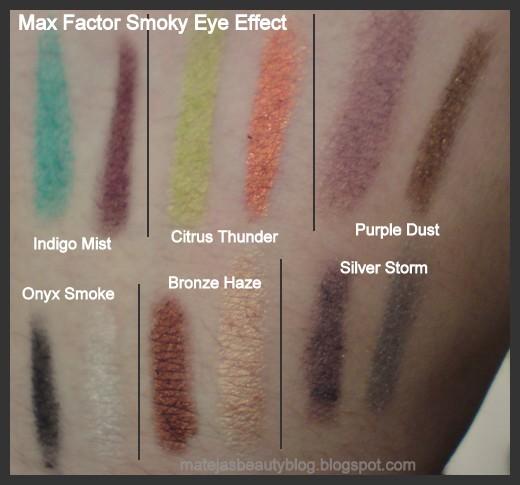 max factor smoky eye effect