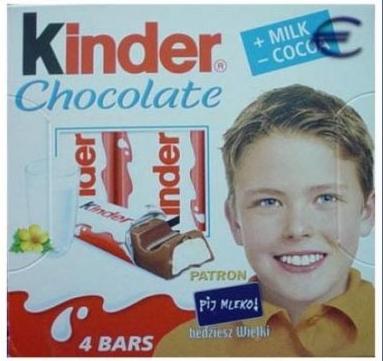 El niño de Kinder sorpresa tiene 47 años