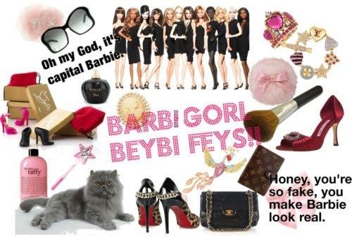 Barbi Görl Beybi Feys!! :)