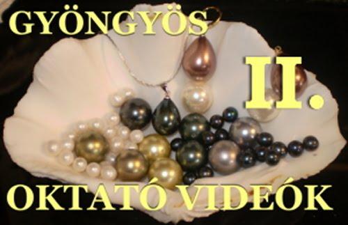 OKTATÓ VIDEÓK II. - Beading videos II.