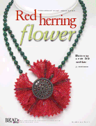 Red Herring Flower