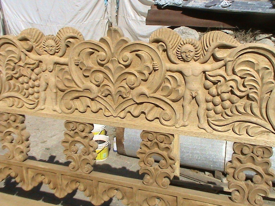 Decoraciones manualidades en madera como pintar tallado for Muebles de sala tallados en madera
