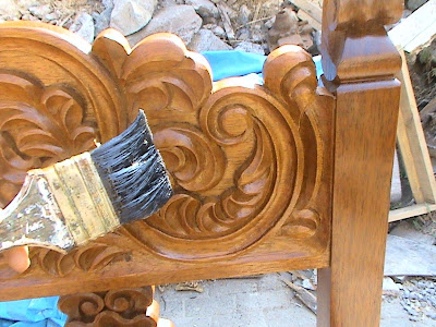 Decoraciones manualidades en madera como pintar tallado - Como pintar madera ...