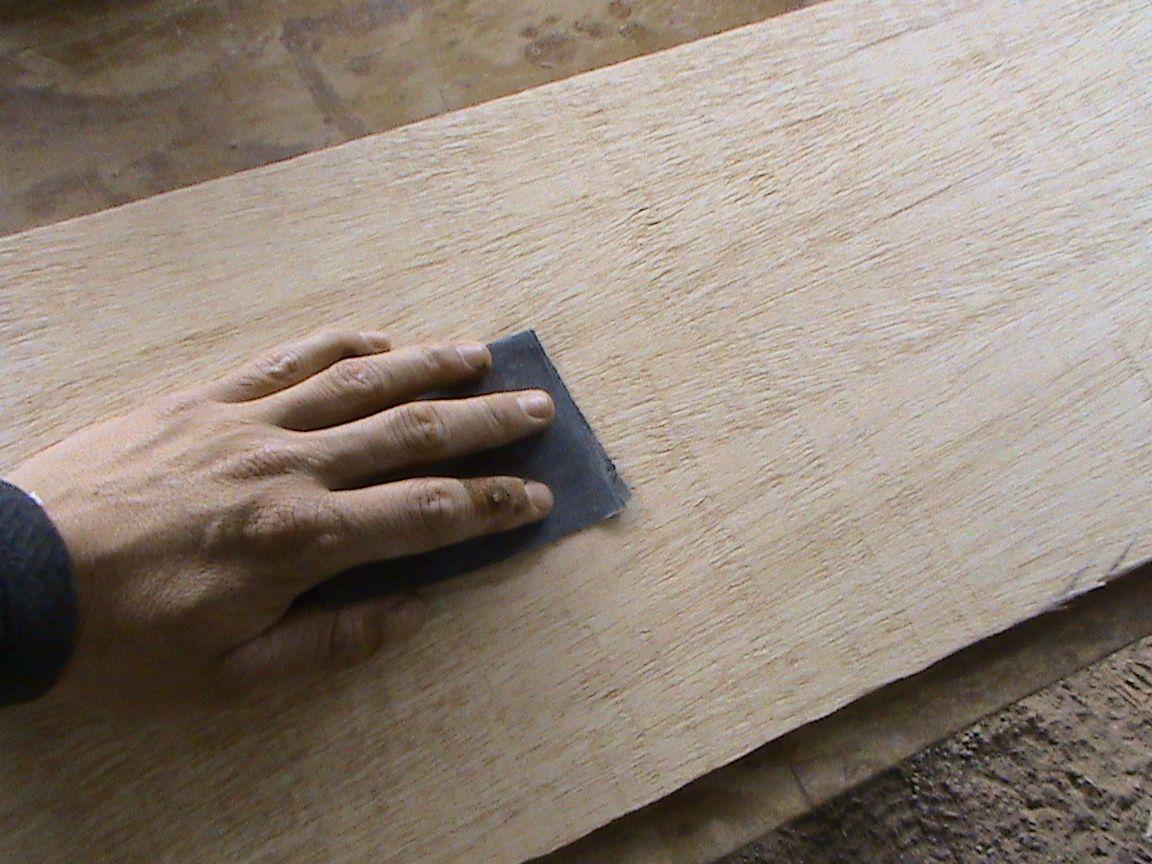 Decoraciones manualidades en madera como se usan los - Como lijar madera ...