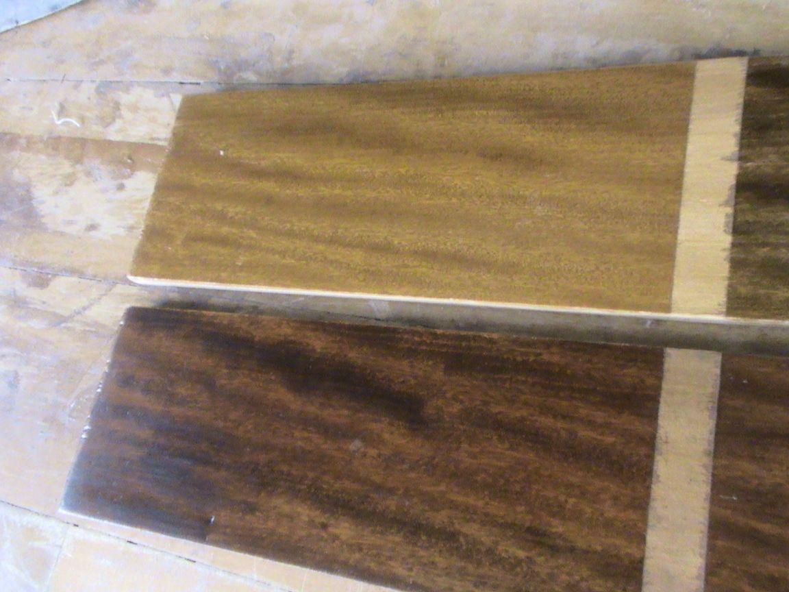Decoraciones manualidades en madera como se usan los - Tintes para madera ...