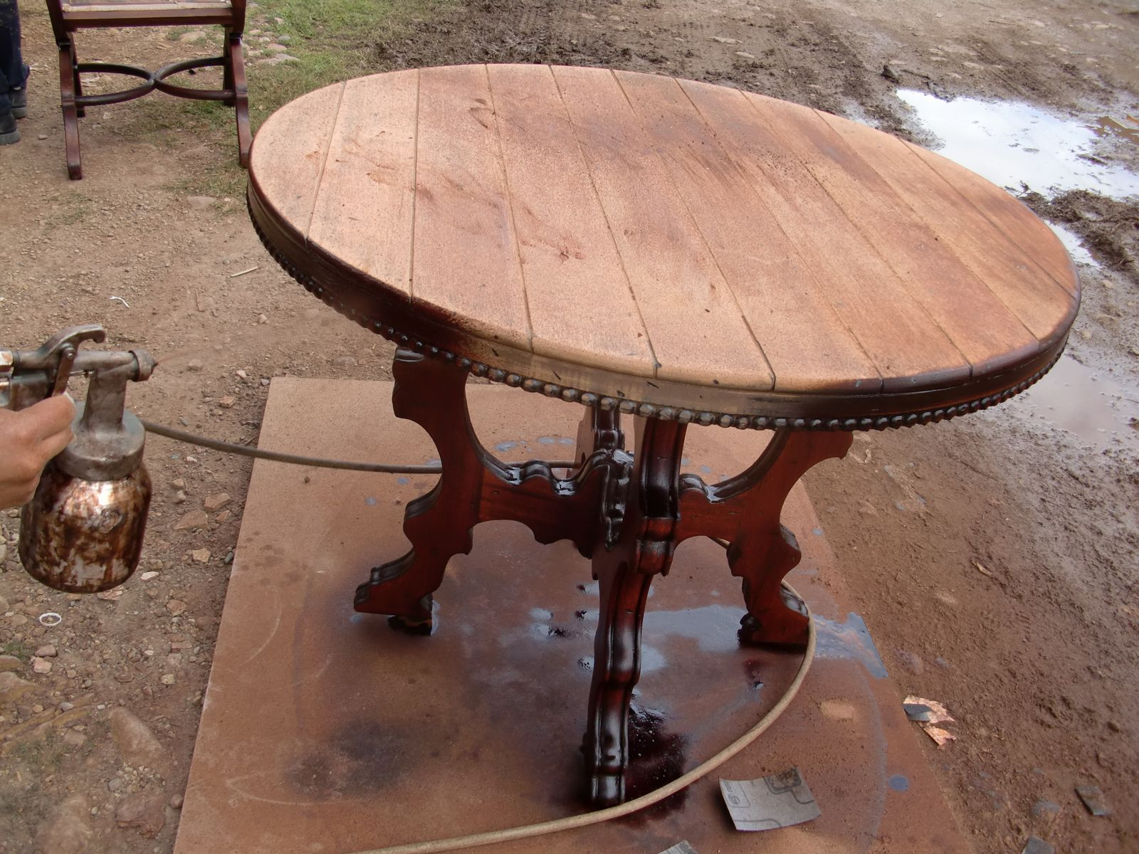 Decoraciones manualidades en madera como restaurar un mueble - Restaurar mueble madera ...