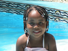 Fun in the Pool with a New Hairdo!