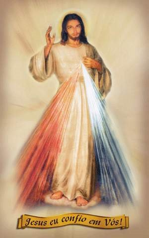 Ó Sangue e Água que jorrastes no Coração de Jesus como fonte de misericórdia para nós!