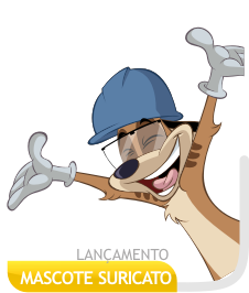 Mascote Suricato