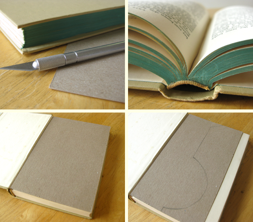 How To Make A Hardcover Book : Lillyella crafting book vases