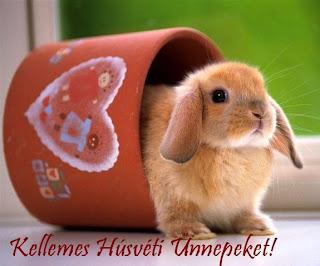 húsvét képeslap