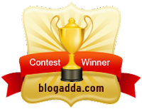 BlogAdda Contest Winner