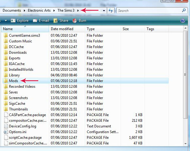 instalar downloads the sims 3