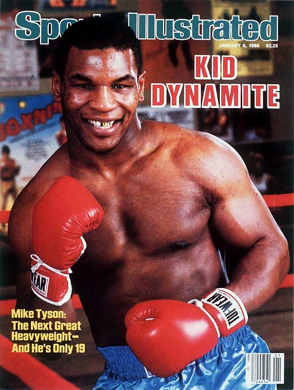 Mike Tyson First Ring Magazine