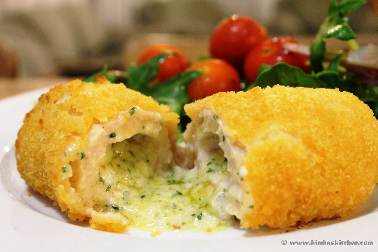 Kimba's Kitchen: Classic Chicken Kiev