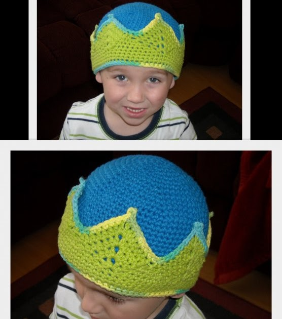 Katy-Di s Creations  Crochet Crown Beanie 570bb8b620b