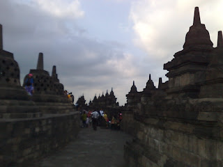 borobudur side