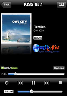 Tunein Radio App for iPad Picture