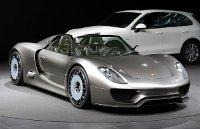 Porsche 918 Spider Car