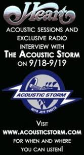 Ann and Nancy on Acoustic Storm!