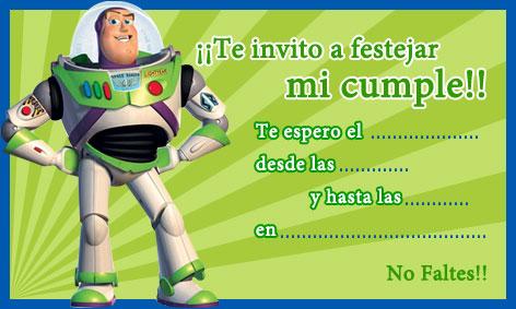 Moldes para Todo: * Invitaciones de Toy Story *