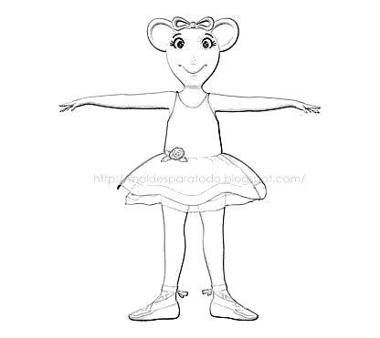 Dibujos Angelina Ballerina *