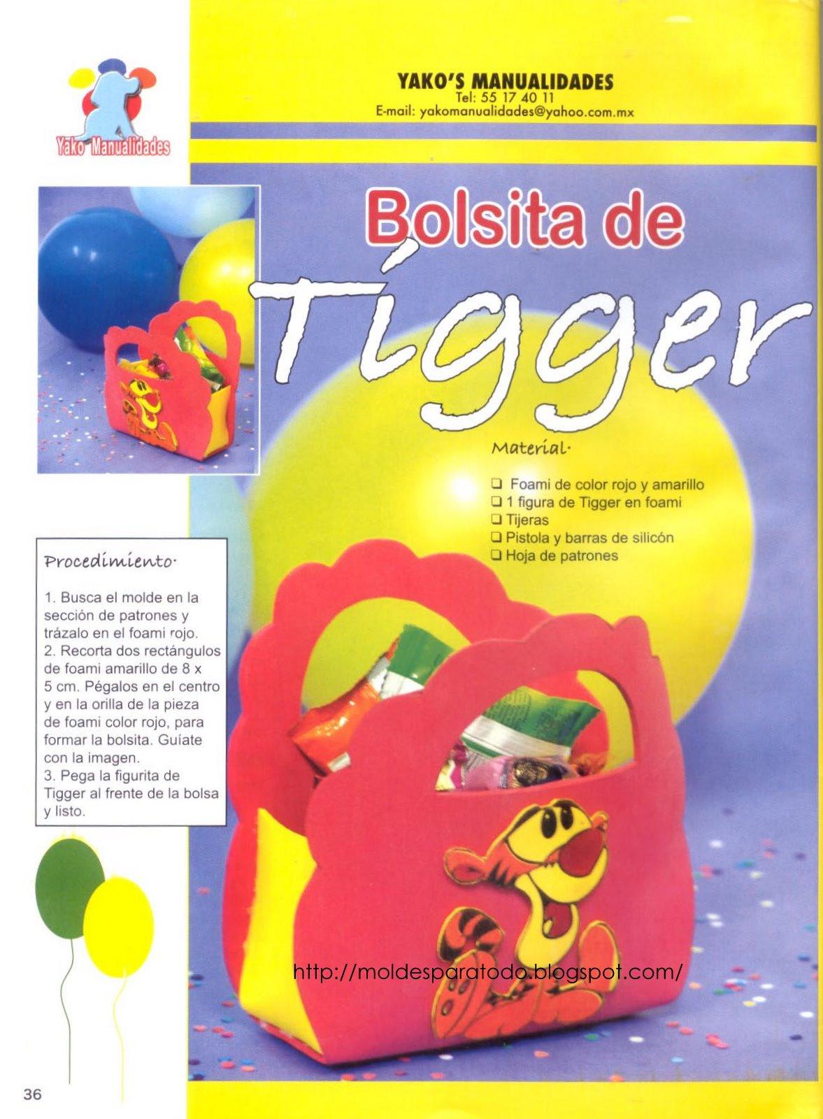Bolsita de Tigger =