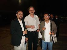 Poetas: André Cruchaga, El Salvador; Michel Cassir, Francia-Líbani; Abraham Jahir Ortiz Nahón, Méx.