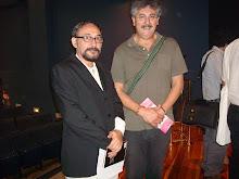 Poetas: André Cruchaga, El Salvador; Javier Campos, Chile.
