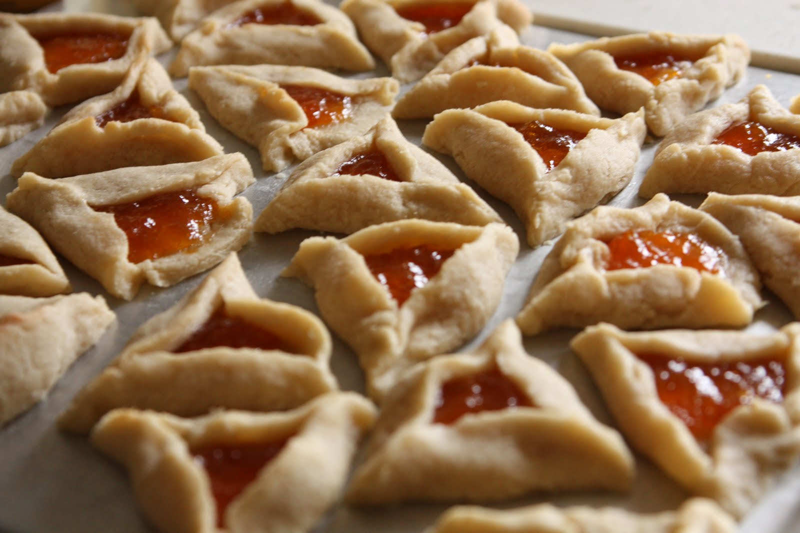In My Vegan Life: VeganMoFo: Mom's Hamantaschen