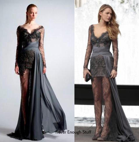 blake lively dress in gossip girl. Dress: Zuhair Murad Fall 2010