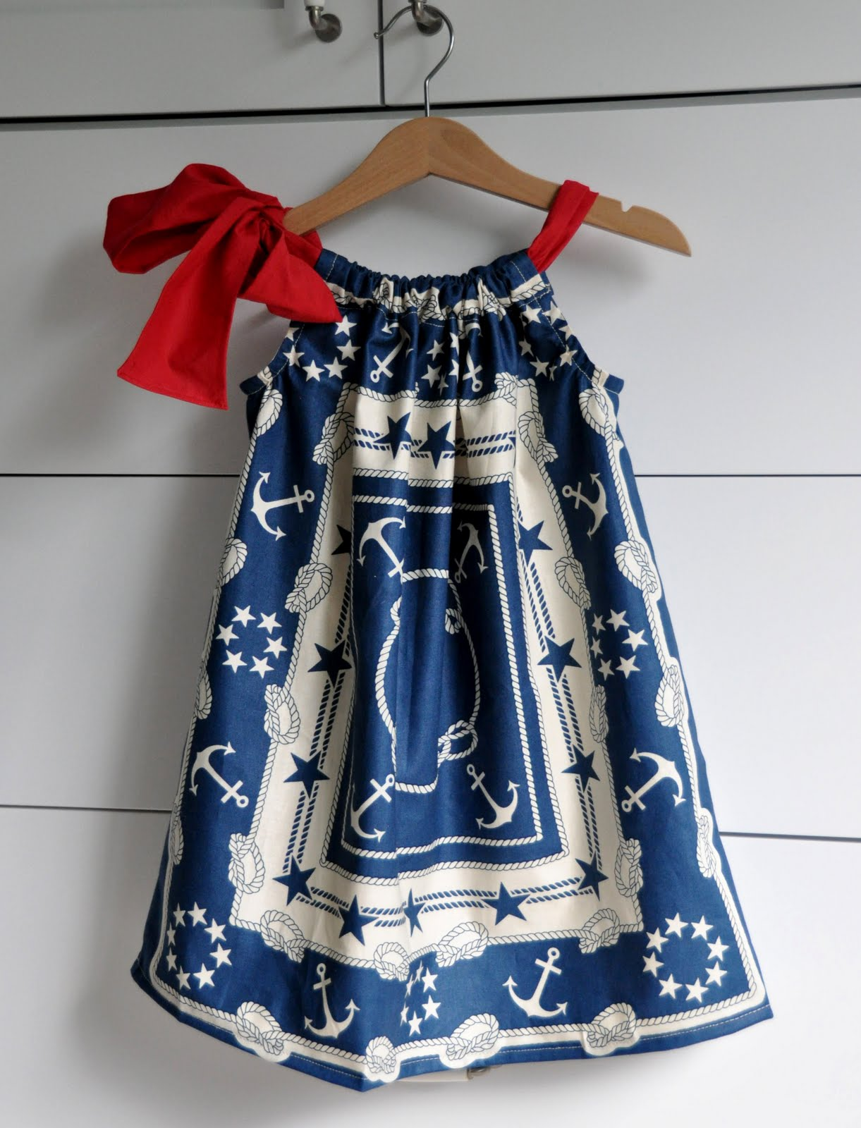 Cute Ideas For Pillowcase Dresses : Aesthetic Nest: Sewing: Patriotic Pillowcase Dresses