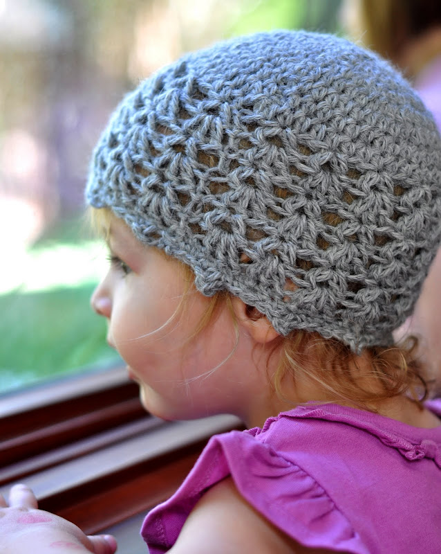Crochet Pattern For Baby Cloche Hat : Aesthetic Nest: Crochet: Picot and Lace Layette