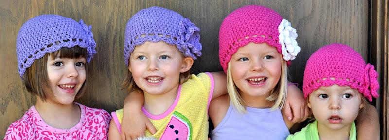 Aesthetic Nest: Crochet: Best Little Girl Cloche