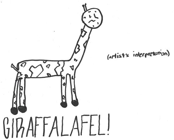giraffalafel!