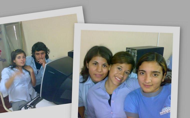 El trabajo en la Sala de Informatica..