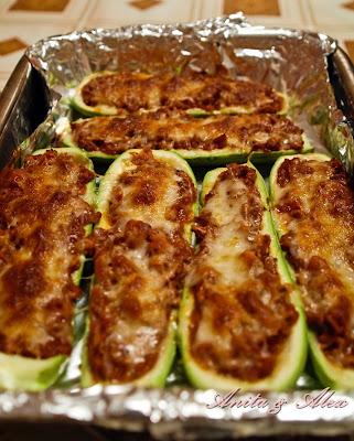 Articole culinare : Dovlecei cu ton la cuptor