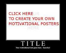CREATE YOUR OWN MOTIVATIONAL POSTER