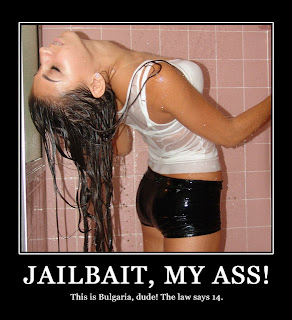 Congratulate, magnificent sexy girl jail bait posters