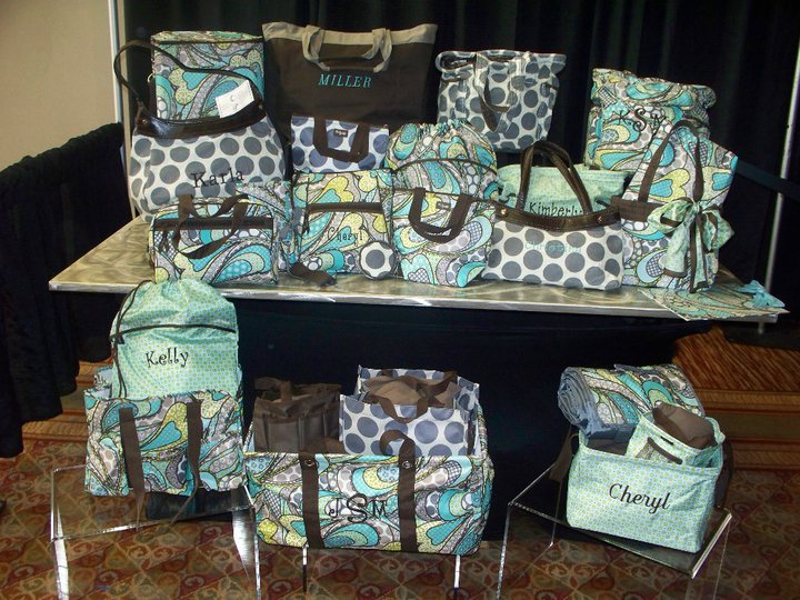 Thirty-One Gifts is a direct sales company with an exclusive product line