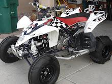 Suzuki 450r Racing Graphics