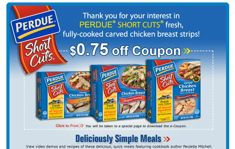 perdue chicken coupons – get promotions and product news